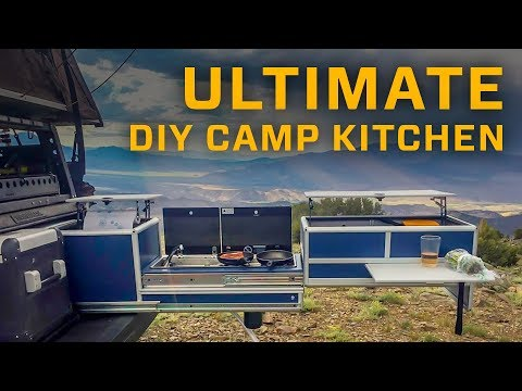 Ultimate DIY Camp Kitchen