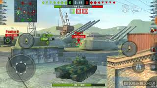 WoTblitz AMX 50 100 game play before nerf