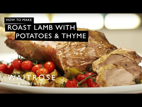 Roast Lamb With Potatoes And Thyme | Waitrose