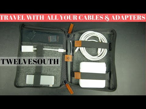TwelveSouth Journal CaddySack (Unboxing & Review) - Travel In Style