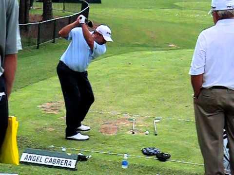 Angel Cabrera HS Video Down the line 2011 PGA.AVI