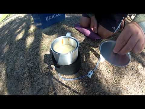 Lightweight Dry-Baking for Bushwalking (Long Version)