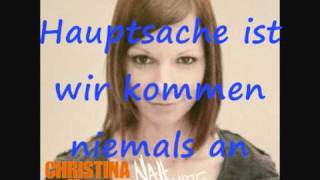 Christina Stürmer - Wenn die Welt untergeht (Lyrics)