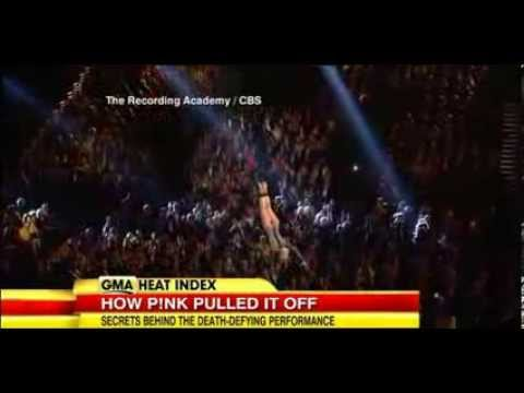 The Secret Behind Pink's Grammy Performance