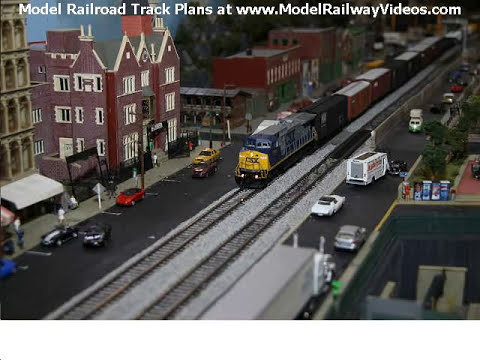 Model Railroad Track Plans To Fire The Imagination - YouTube