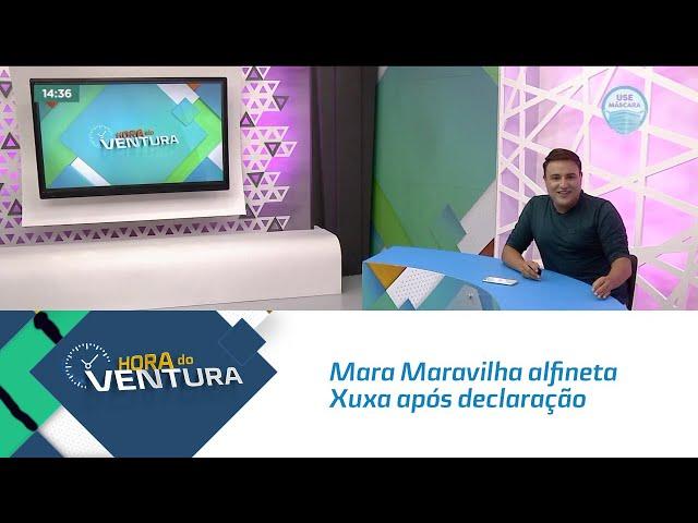 Mara Maravilha alfineta Xuxa após declaração sobre decisão de deixar o Brasil