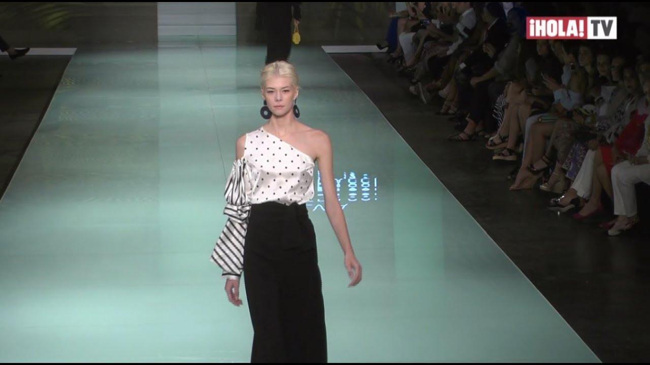 827e04f3af La colección crucero 2018 de Silvia Tcherassi abrió la semana de la moda en  Miami | La Hora ¡HOLA!