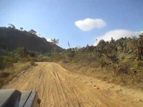 Daihatsu F70 TAFT Timing Gear Diesel Engine  Long climbs dusty