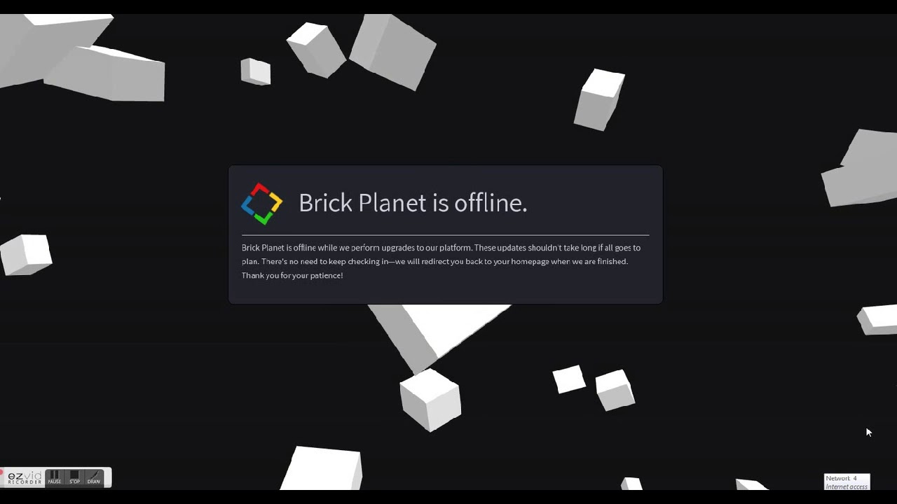Brick Planet Blox City Down