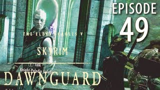 Skyrim: Dawnguard Walkthrough in 1080p, Part 49: Kicking Falmer Ass in Darkfall Passage (Let's Play)