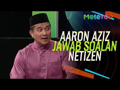 Aaron Aziz kena jawab soalan dari Netizen  MeleTOP  Nabil & Neelofa
