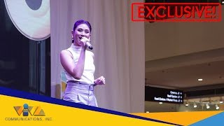 "WATCH: Sarah Geronimo's cutest live performance ever! Miss Granny's OST ""Kiss Me, Kiss Me"""