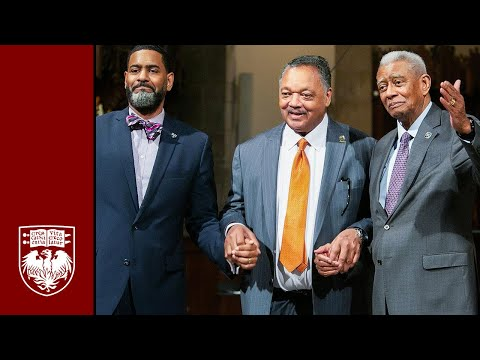 2020 UChicago Martin Luther King Jr. commemoration with Otis Moss III & Otis Moss Jr.