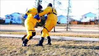 Ice Water Rescue Training - Grande Prairie Fire Department - Grande Prairie Ab
