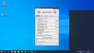 myPublicWiFi Turn your computer into a Virtual WiFi Hotspot   with Firewall and Bandwidth Manager
