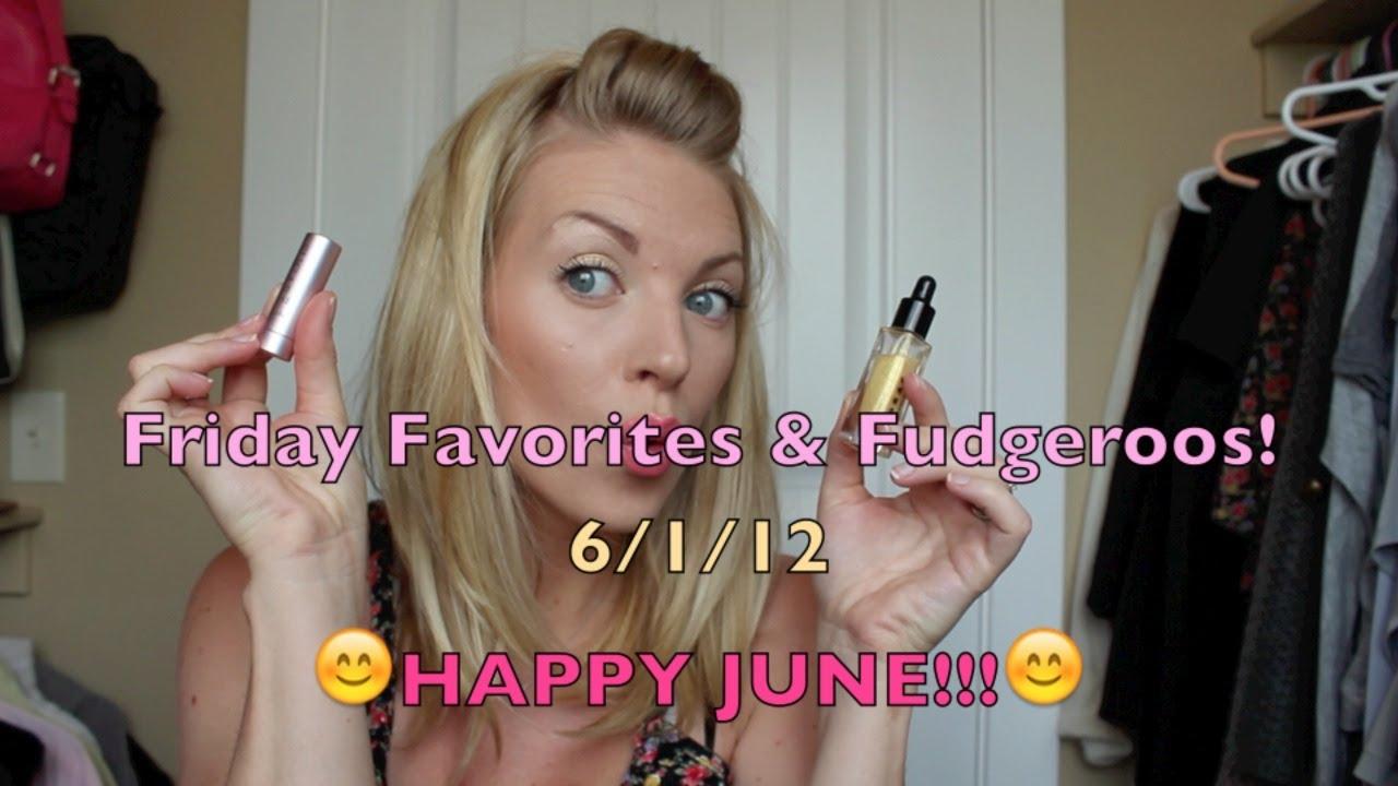 Friday favorites fudgeroos youtube