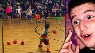 This Kid Beats Entire Dodgeball Team In 30 SECONDS..