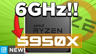 AMD's RX 6000 GPUs RELEASE Timing, Ryzen 5950X Overclocked PAST 6GHz!