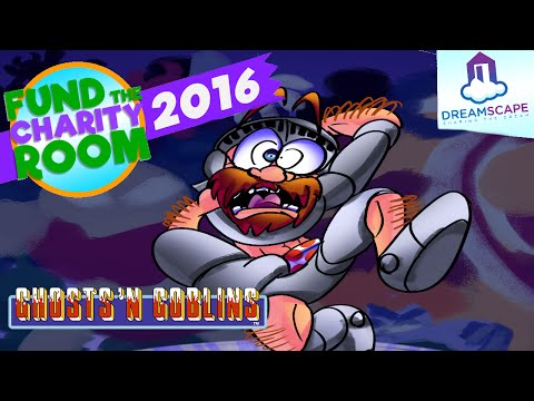 Ghosts 'n Goblins - Fund The Charity Room