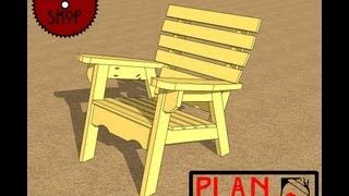 Chief's Shop Plan Of The Week: Florida Chair