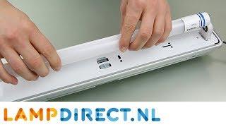 T8 TL Buis zonder starter vervangen door LED Buis (elektronisch VSA) | Lampdirect.nl