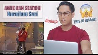 Awie dan Search - Nurnilam sari | REACTION