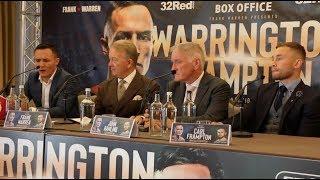 JOSH WARRINGTON v CARL FRAMPTON - *FULL & UNCUT* LONDON PRESS CONFERENCE / WARRINGTON-FRAMPTON