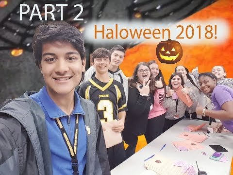 HALLOWEEN IS THE BEST!! ???? Part 2 | Commack High School | Zad AT Vlogs
