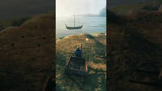 How To Build And Use The Cart - Valheim Tutorials - #Shorts