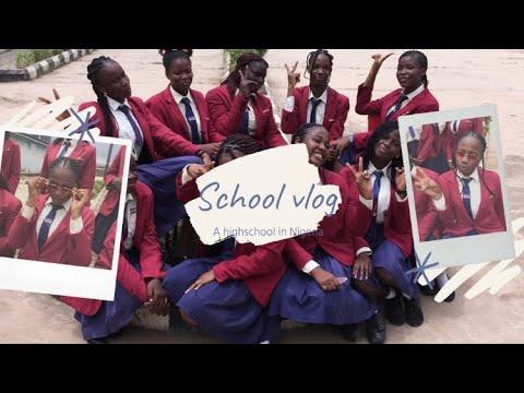 My Lagos school vlog/ Nigeria Zeekay college