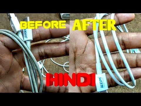 HOW TO CLEAN WHITE EARPHONES,DATACABLES,POWERBANKSandBRICKS AT HOME( HINDI )