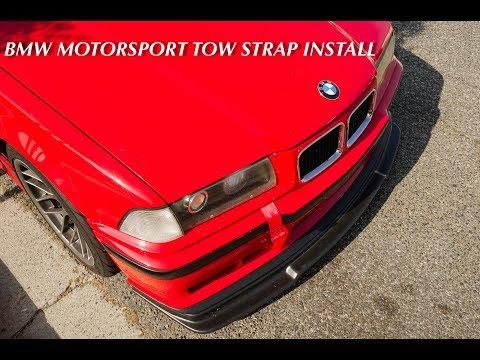 tow strap install - Myhiton