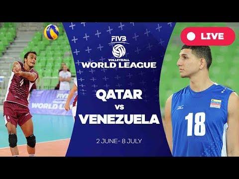 Qatar v Venezuela - Group 3: 2017 FIVB Volleyball World League