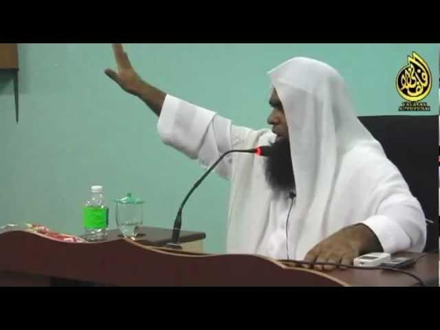 Ustaz Shahul Hamid - Rokok Haram !