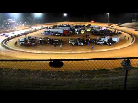 """Friendship Speedway"""" Fastrak Procrates Race""""( part 2)  4-6-13"""