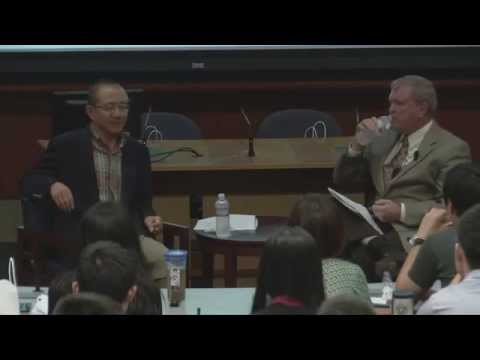 Gao Xiqing '86 & Lawrence Baxter | Discussing China's Economy
