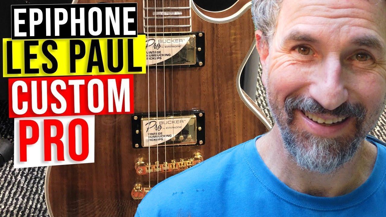 AWESOME DISCOVERY | Epiphone Les Paul Custom Pro Koa