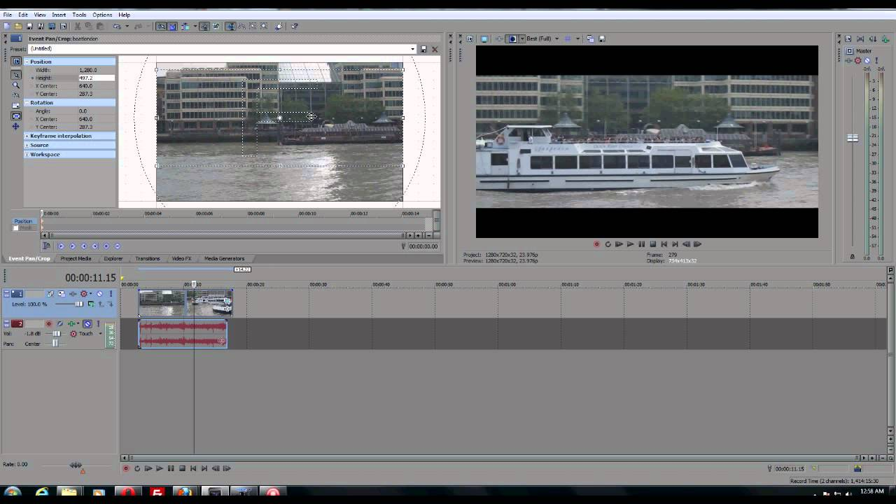 how to crop in adobe x pro
