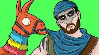 Fortnite Multiplayer Gameplay - LLAMA PINATA! - Funny Video Game Moments