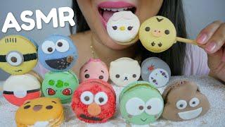 ASMR MACARONS *Soft Chewy Crunchy Eating Sounds | No Talking N.E ASMR