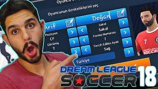 Kendi Oyuncumuzu Oluşturmak! - Dream League Soccer 2018