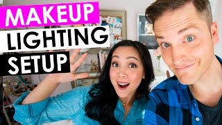 Makeup Lighting Setup — Best Beauty Video Lighting with ItsJudyTime(Check out the ItsJudyTime lighting set-up here: http://bit.ly/ItsJudyTimeLighting *** Download the Video Gear Buyer's Guide for money-saving-tips here: ..., 2016-02-16T18:23:00.000Z)