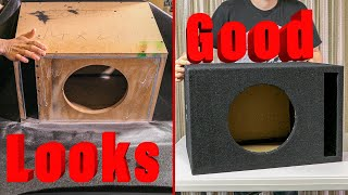 How To Carpet a Custom SubWoofer Box for Beginners
