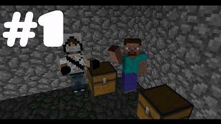 Minecraft | Выживание с друзьями | #1