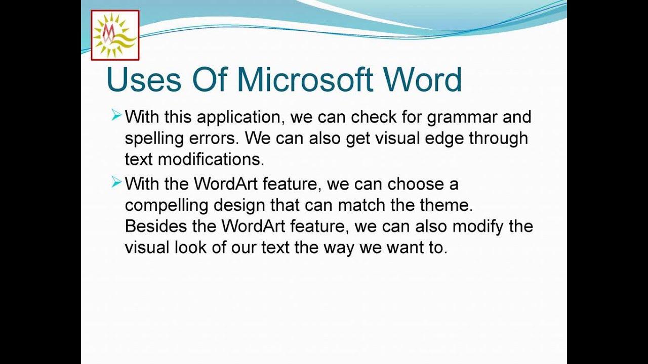 MICROSOFT OFFICE NOTES PDF