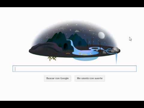 Google Doodle Dia de la Tierra 2013 (22 abril) Earth Day