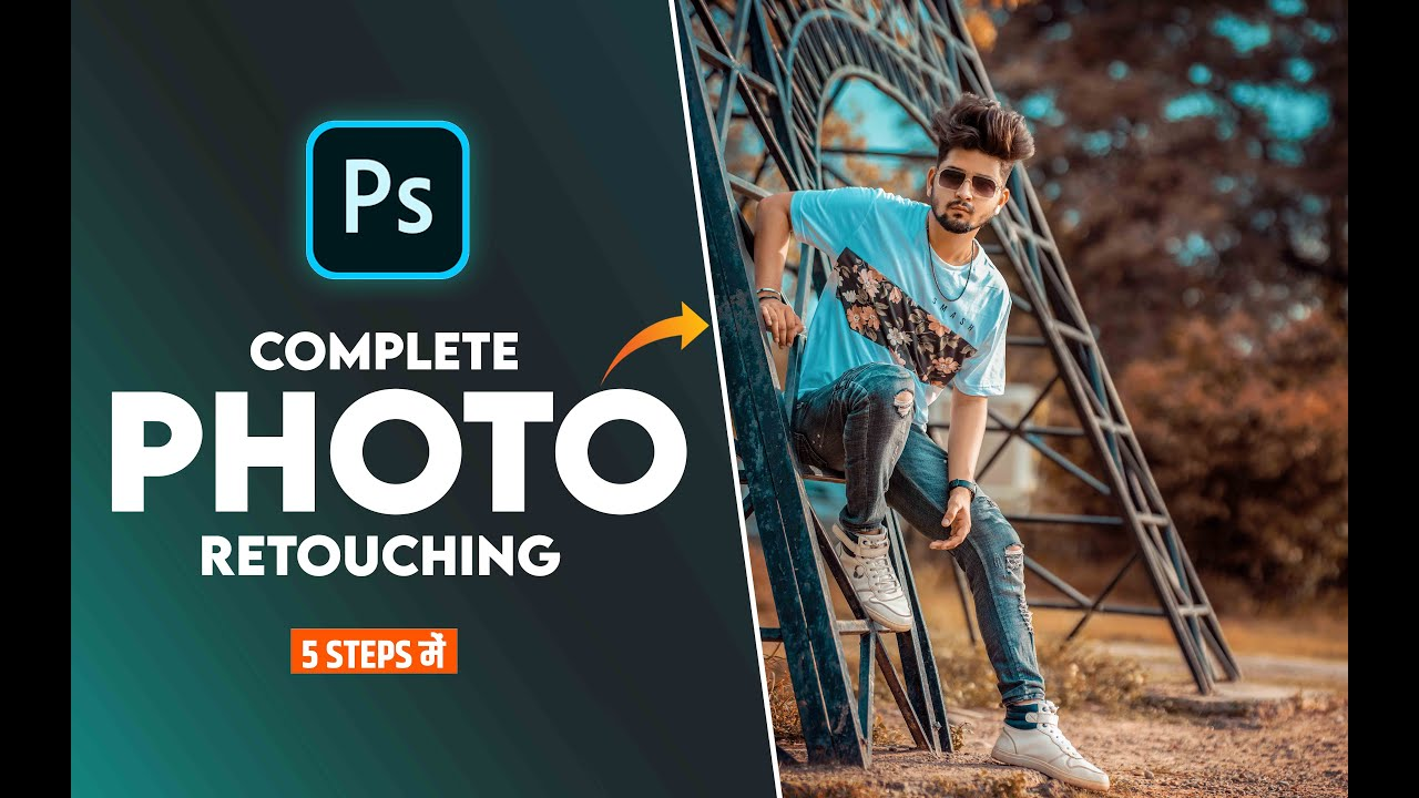 Complete Photo Retouching in Photoshop - Photoshop Masterclass EP 07 - NSB Pictures
