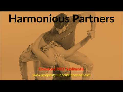 Harmonious Partners - Subliminal Relations Affirmations Audio