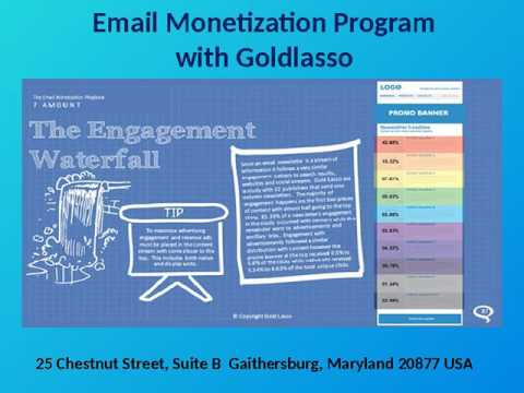 Monetize Email Newsletter Service with Goldlasso