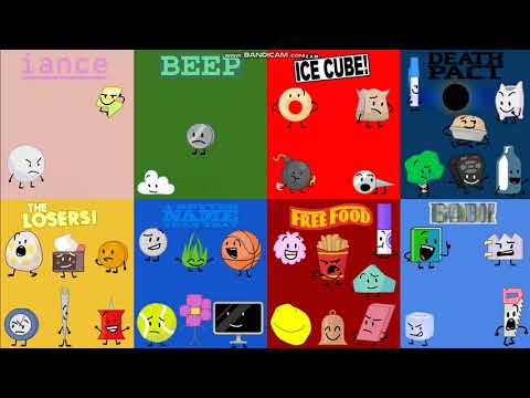 BFB But Only The TPOT Contestants Exist